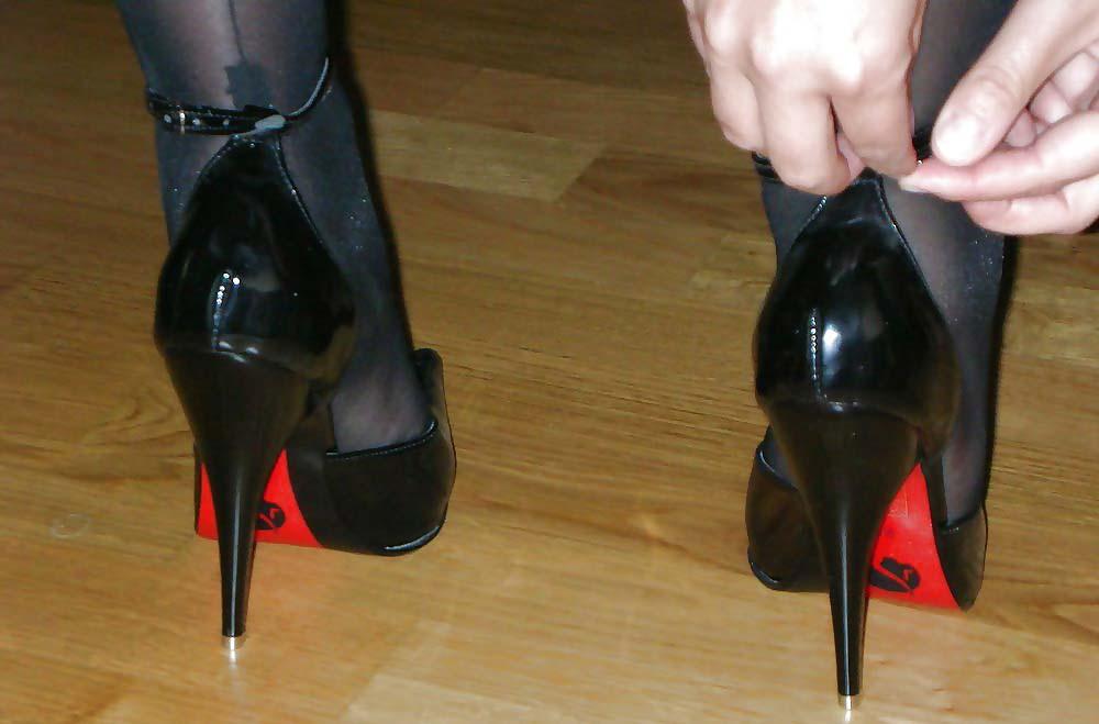 marirea pantofilor de dama